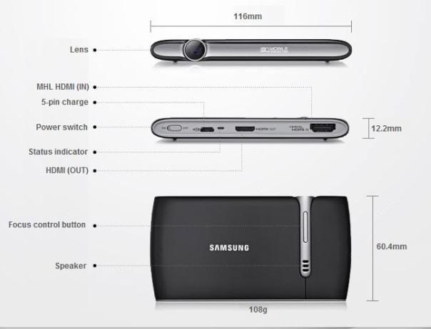 Samsung Mini Projector EAD-R10